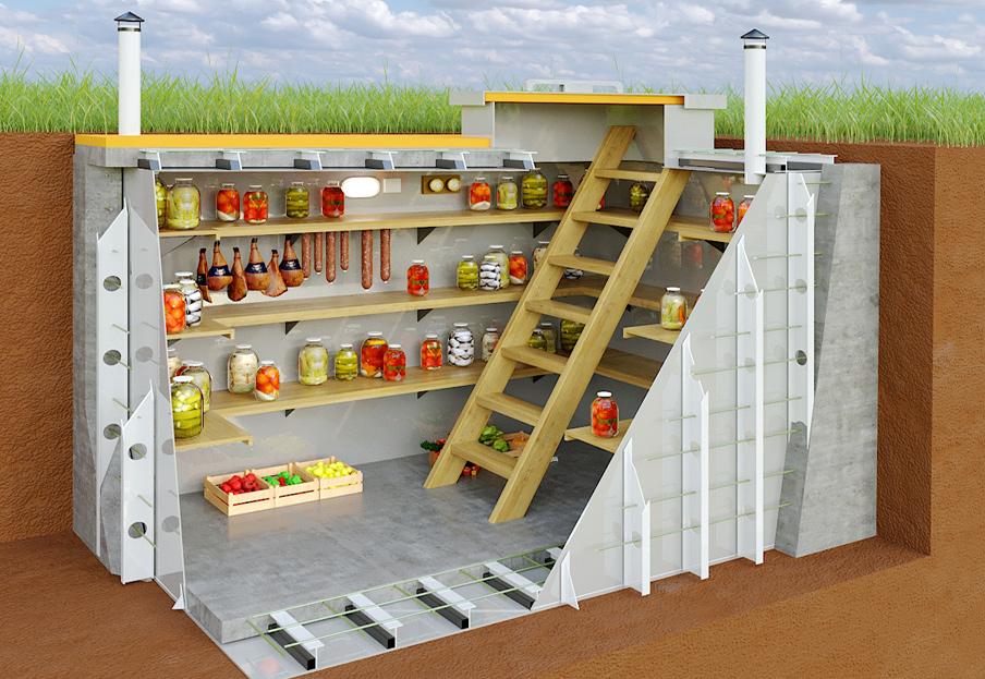 важность вентиляции погреба для хранения продуктов