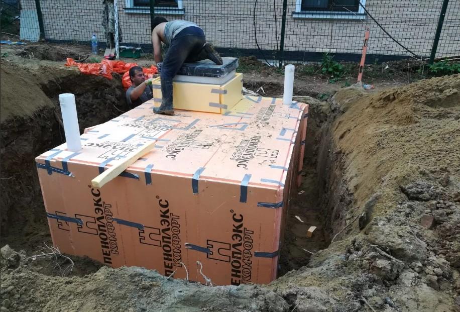 теплоизоляция погреба