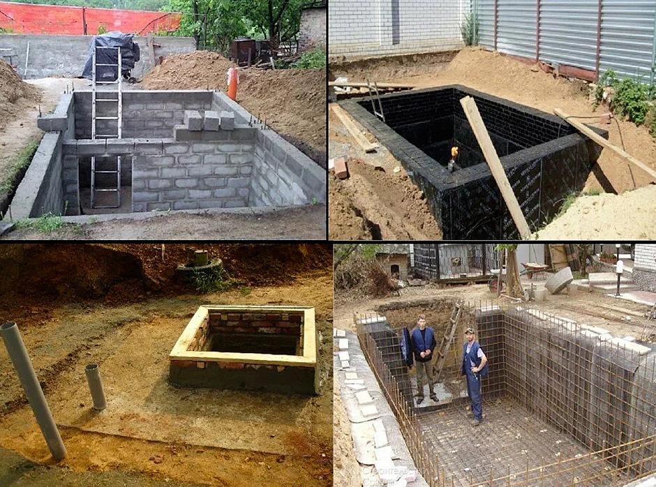 этапы строительства погреба своими руками